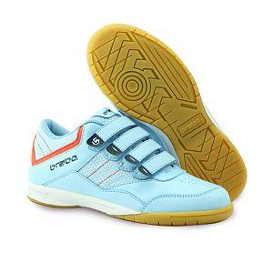 Brabo Velcro indoor Lichtblauw-Oranje