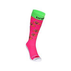 Brabo Socks Fishes Pink